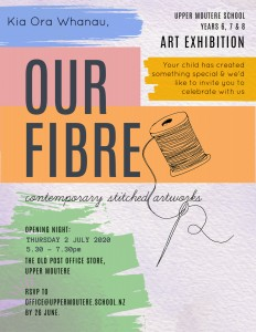 Our Fibre Exhibition 3-18 July